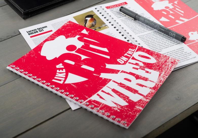 Brochures avec spirale